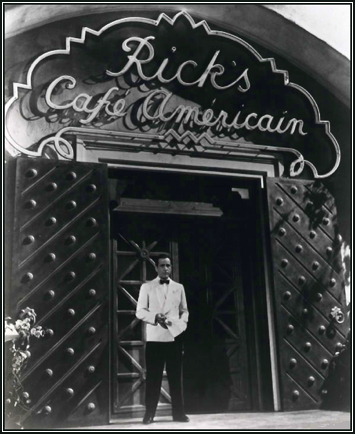 Rick's Cafe Americain Neon Sign Casablanca